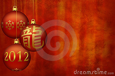 Chinese New Year - Dragon - background