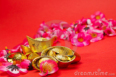 Chinese New Year - Golden Ingots