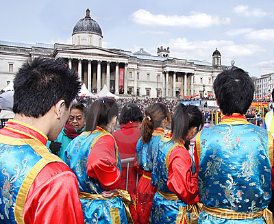 Chinese new year, london Editorial Photography