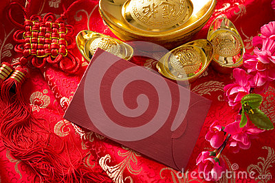 Chinese new year monetary stock photo image 63489745 for Ang pow packet decoration