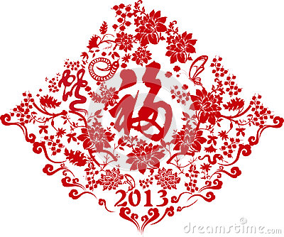 Chinese New year paper-cut