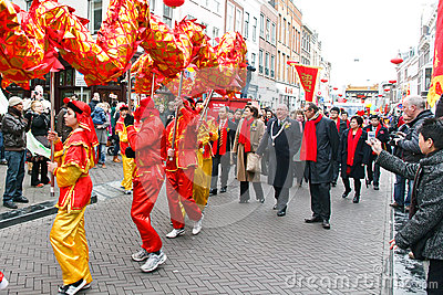 Chinese New Year Parade Editorial Photography