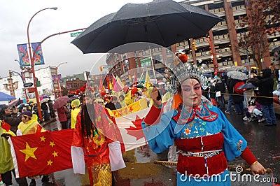 Chinese New Year Parade Editorial Photo