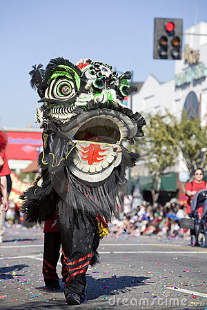 Chinese New Year Parade Dragon 4 Editorial Photography