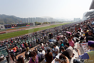 Chinese New Year Raceday Editorial Image