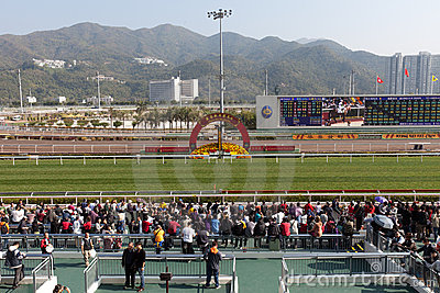 Chinese New Year Raceday Editorial Photography