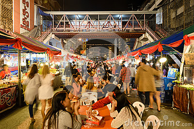 Chinese New Year in Thailand Editorial Stock Image