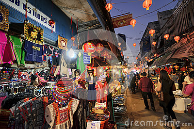 Chinese New Year in Thailand Editorial Stock Photo