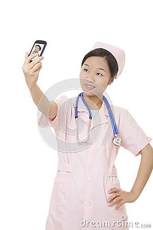 Chinese Nurse Stock Photo - Image: 40994194