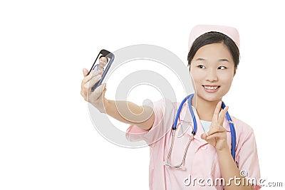 Chinese Nurse Stock Photo - Image: 41142679