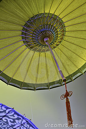 Chinese oil-paper umbrella