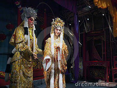 Chinese opera Editorial Photography