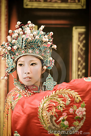 Chinese Opera woman portrait