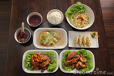 Chinese Oriental Set Meal