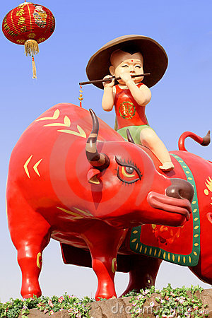 Chinese ox year.