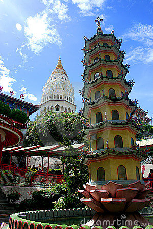 Free Chinese Pagoda Stock Image - 322071