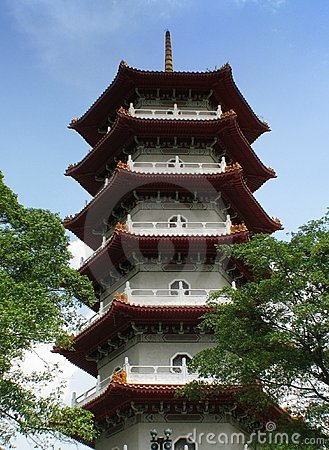 Chinese Temple - pagoda