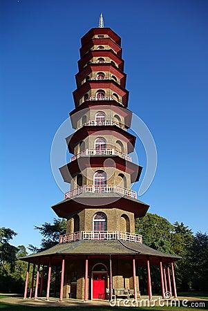 Chinese pagoda in Kew Gardens
