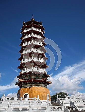 Chinese Pagoda at Sun Moon Lake