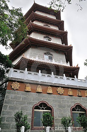Chinese Pagoda temple at Taiwan