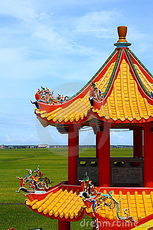 Free Chinese Pagoda Tower Royalty Free Stock Photo - 14761595