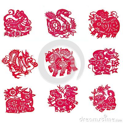 Free Chinese Paper-cut Stock Images - 37983194
