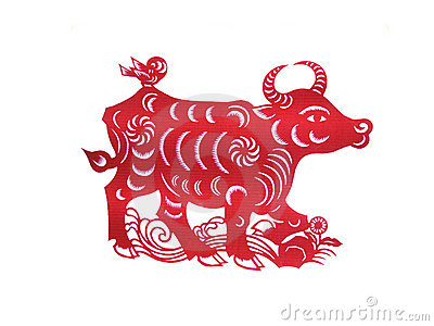 The chinese paper cutting