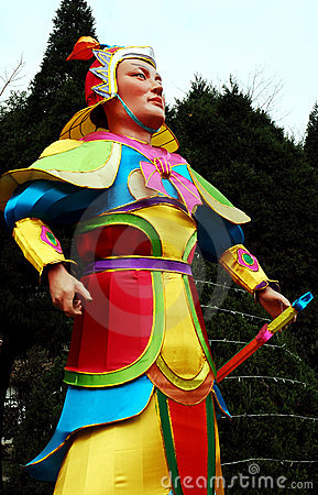 Chinese paper knight