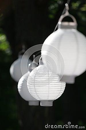 Free Chinese Paper Lanterns Stock Photos - 10912583