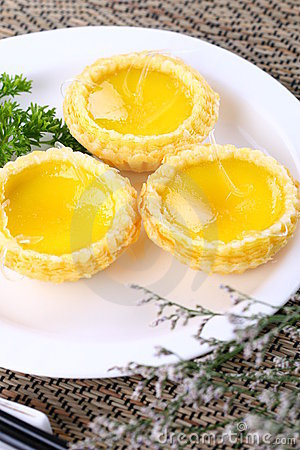 Free Chinese Pastry Egg Tart Royalty Free Stock Photo - 8433285
