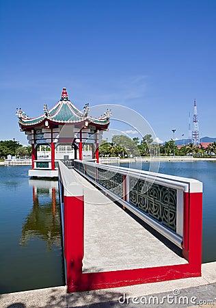 Chinese pavilion.