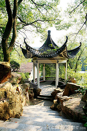 Free Chinese Pavilion Royalty Free Stock Photography - 7073377