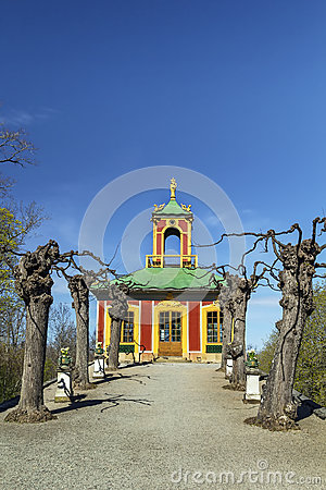 Free Chinese Pavilion At Drottningholm, Stockholm Royalty Free Stock Image - 40833356