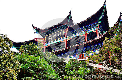 Chinese pavilons