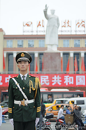 Chinese police Editorial Photography