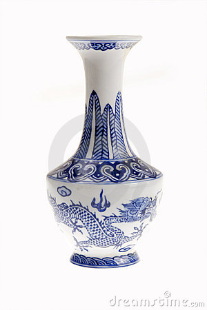 Free Chinese Porcelain Vase Royalty Free Stock Photo - 13246885