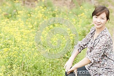 Chinese  happy  girl