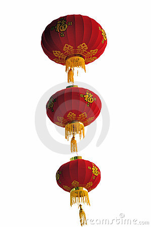 Chinese prosperity lanterns