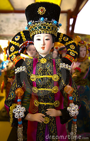 Chinese puppet