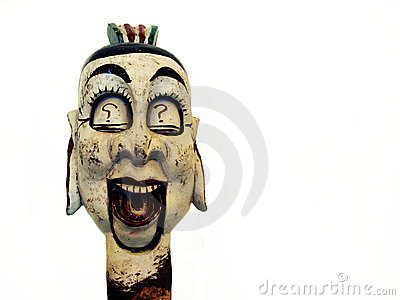 Chinese puppet head