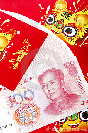 Chinese red packets.(tiger year).
