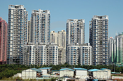 Chinese residential area