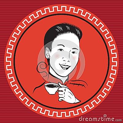 Chinese Retro Person