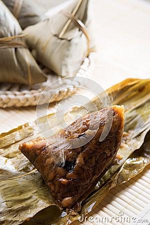 Free Chinese Rice Dumpling Royalty Free Stock Photo - 31736195
