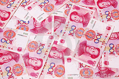 Chinese RMB muntachtergrond