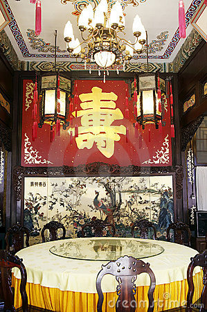 Chinese royal banquet hall
