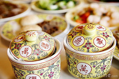 Chinese royal tableware