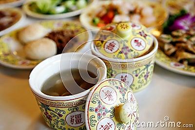 Chinese royal tableware