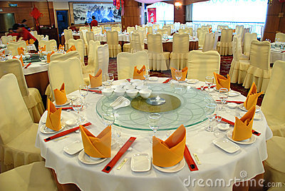 Chinese Rstaurant Table