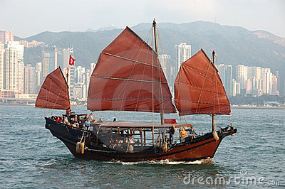 Chinese sailing ship